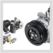 Image containing MAHLE engine components.