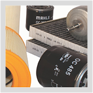 Image containing MAHLE filters.