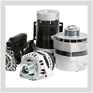 Image containing MAHLE starters and alternators.