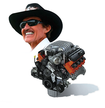 Horsepower Built by Petty's Garage